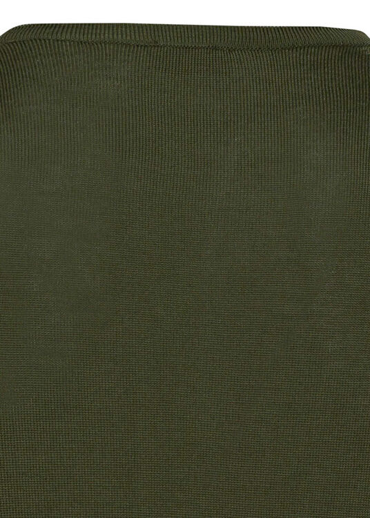 Merino V-neck w.Patch image number 3