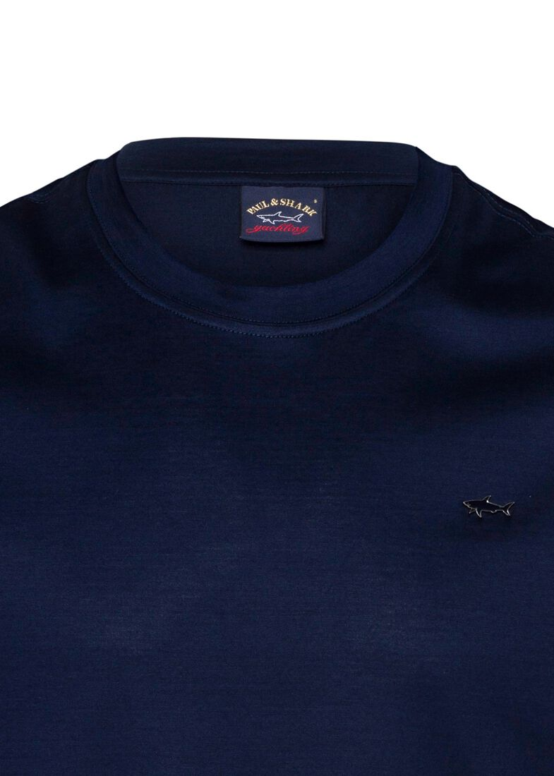 MEN'S KNITTED T-SHIRT C.W. COTTON, Blau, large image number 2