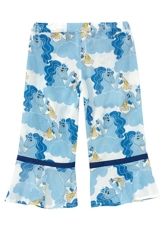 Unicorn noodles woven trousers -X- image number 1