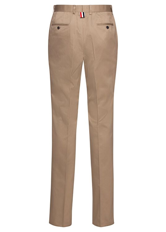UNCONSTRUCTED CHINO TROUSERS image number 1