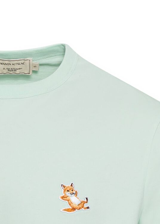 CHILLAX FOX PATCH CLASSIC TEE-SHIRT image number 2