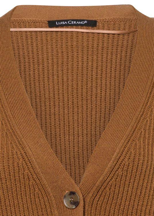Cardigan mit Fransenbändern image number 2