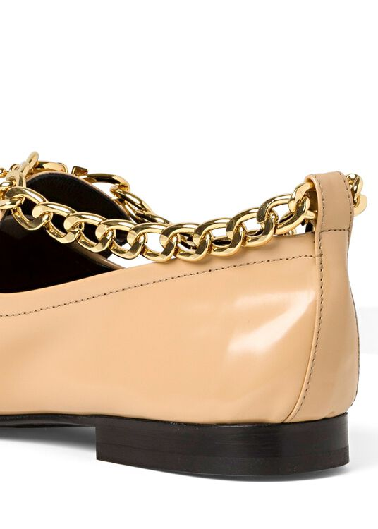 Nick Cream Semi Patent Leather image number 3