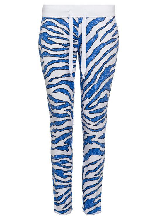 Fleece Trousers Zebr, Mehrfarbig, large image number 0