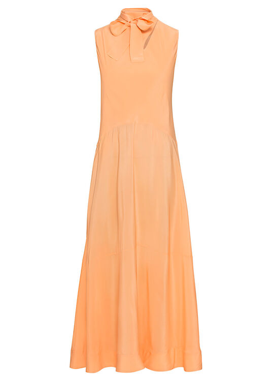Sleeveless Silk Cdc Midi Dress image number 0