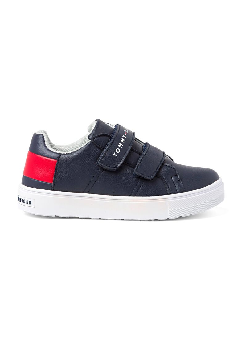 Low Cut Velcro Sneaker, Blau, large image number 0