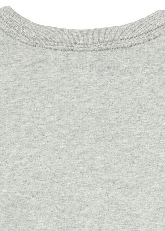 Long sleeve tee with subtle chest artwork in organic cotton image number 3