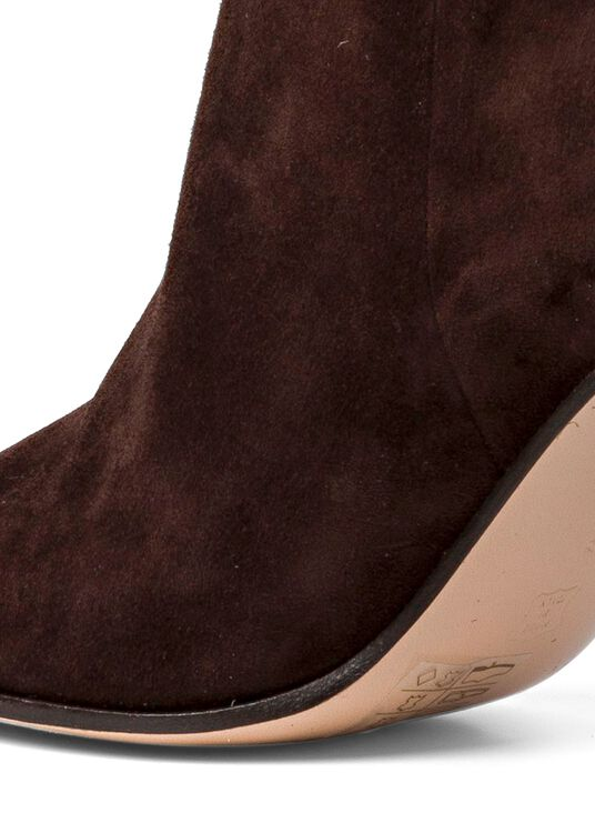 2_Squared Toe Boot Velour image number 3