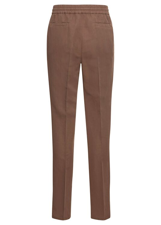 Cotton Linen Drawstring Pants image number 1
