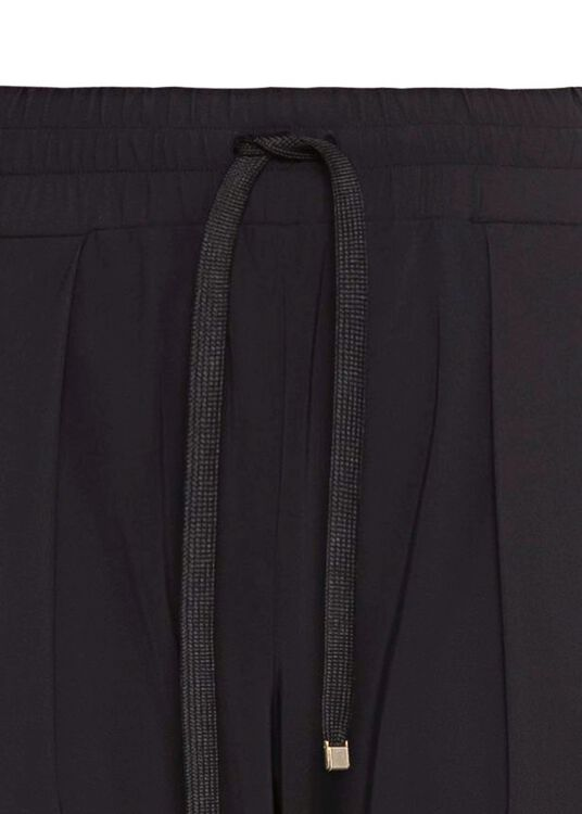 LUXE LEGER TRACK PANTS BLACK image number 2
