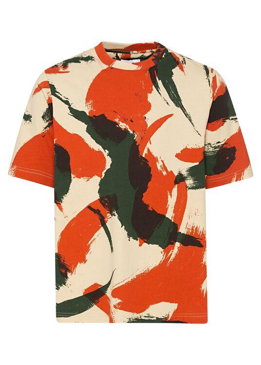 T-Shirt, Mehrfarbig, large image number 0