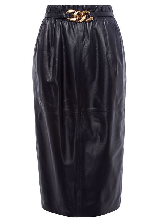 LEATHER-SKIRT image number 0
