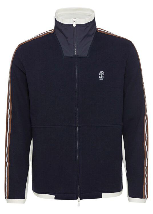 Cotton Jersey Zip Thru image number 0
