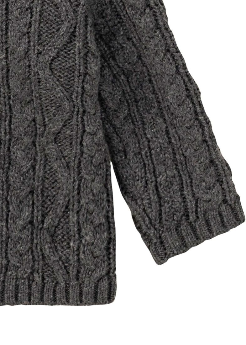 Strickjacke, Grau, large image number 3