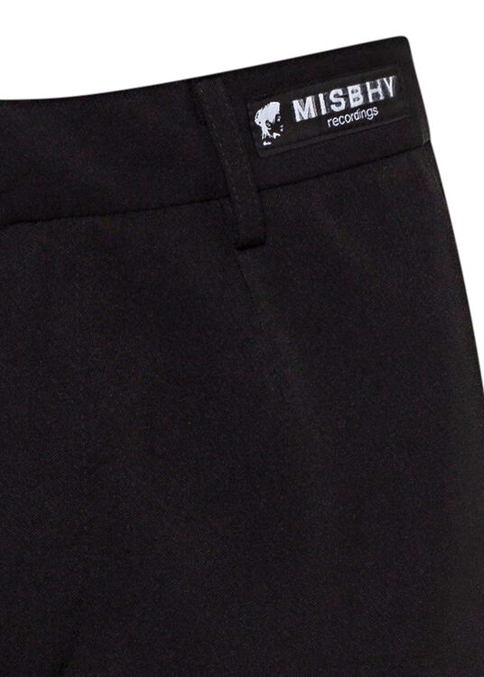 90'S NY BLACK TAILORED TROUSERS image number 2