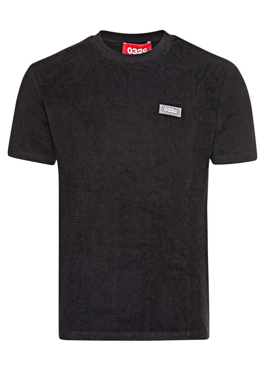 TOPOS SHAVED TERRY T_SHIRT image number 0