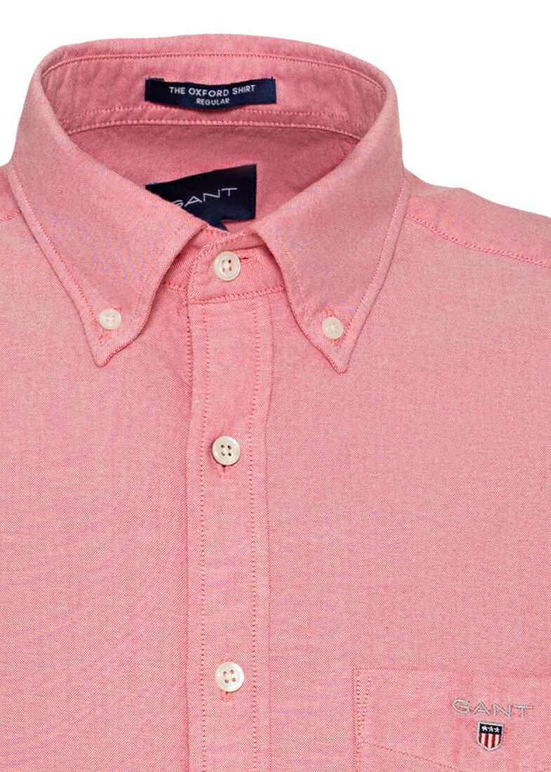 REG OXFORD SHIRT BD, Rosa, large image number 2