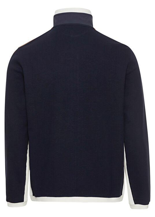 Cotton Jersey Zip Thru image number 1