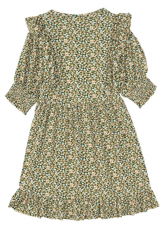 Miu LS Dress w Flowers image number 1