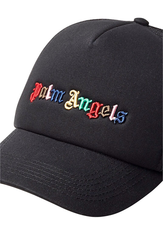 RAINBOW LOGO CAP  BLACK MULTICOLOR image number 1