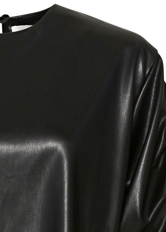 BLOUSE WITH STRINGS ON SLEEVES image number 2