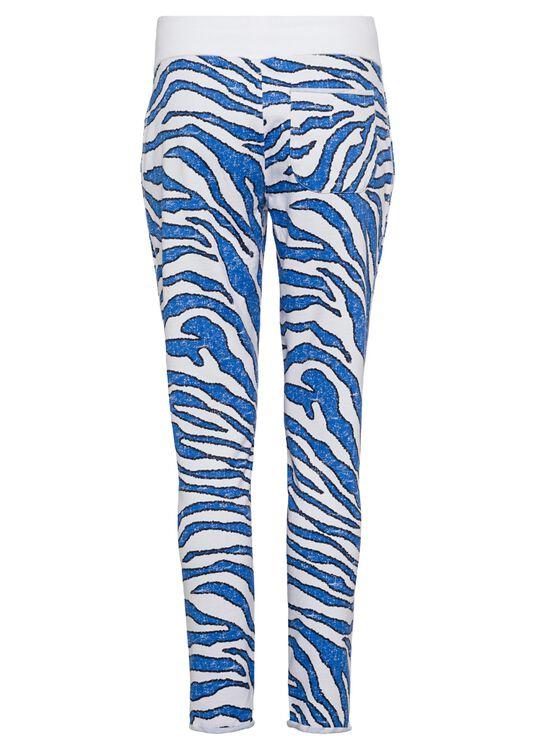 Fleece Trousers Zebr, Mehrfarbig, large image number 1