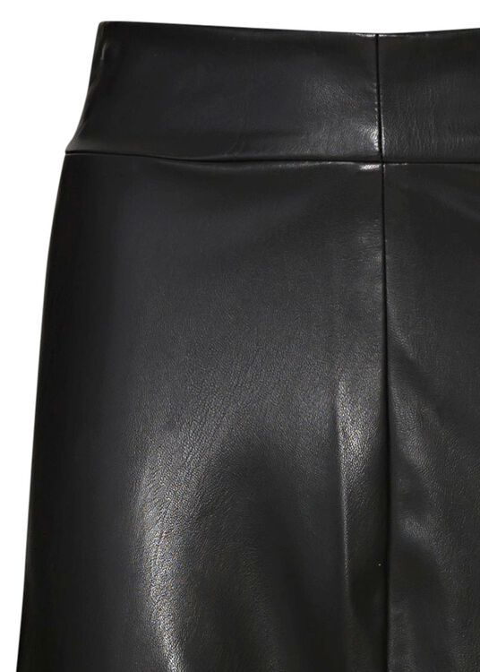 HIGH WAIST SKIRT WITH VOLANTS, Schwarz, large image number 2