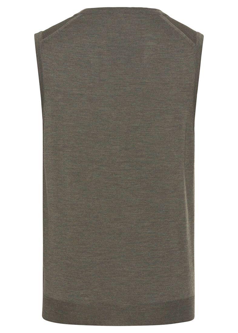 Vest, Merino wool, Grün, large image number 1