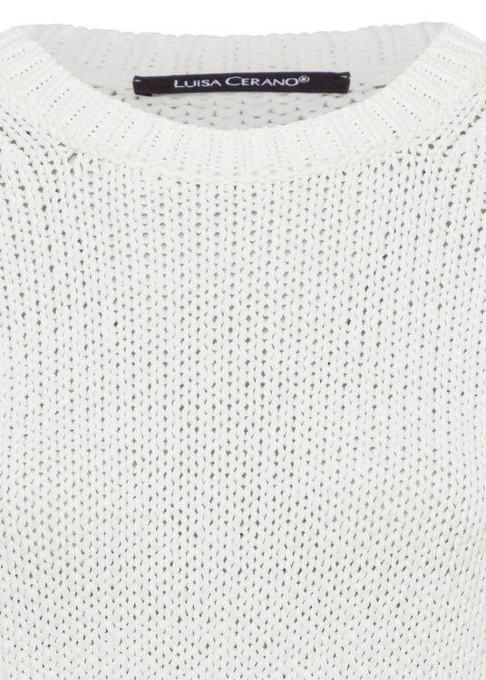 Ripp-Pullover in Garn-Optik image number 2