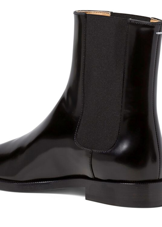 1_Chelsea Tabi Boot Brushed, Schwarz, large image number 3