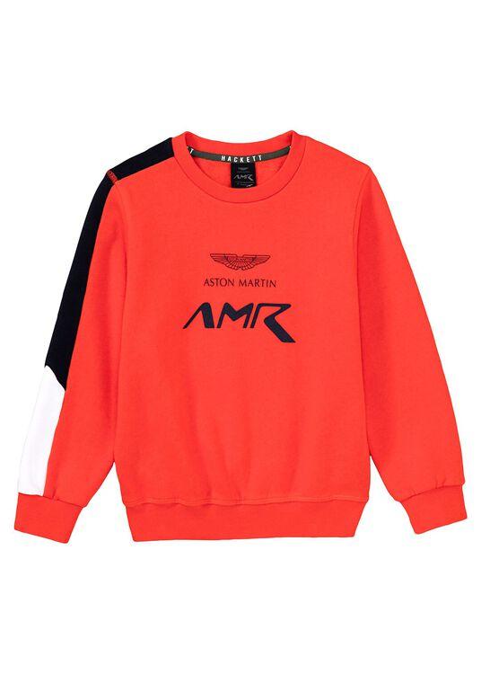 AMR crew Neck, Orange, large image number 0