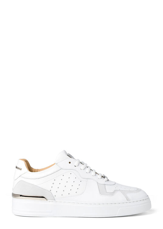 Lo-Top Sneakers mix leathers G.O.A.T. TM image number 0