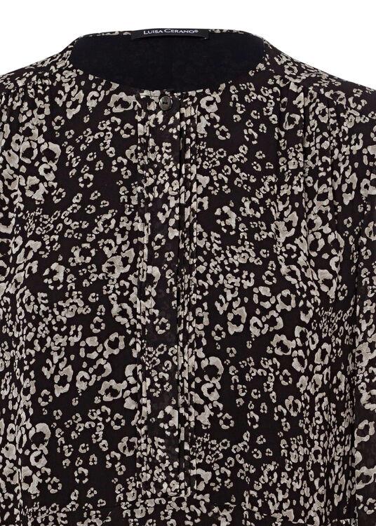 Midi-Kleid mit Animal-Print image number 2