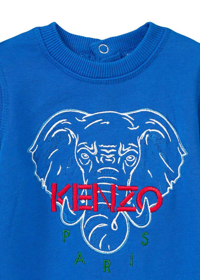 Elephant Onesie, Blau, large image number 2