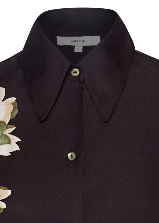 LISIANTHUS COLLARED BLOUSE image number 2