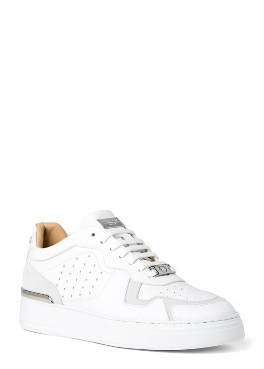 Lo-Top Sneakers mix leathers G.O.A.T. TM image number 1