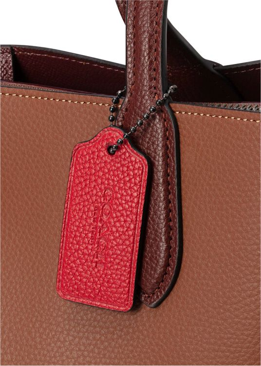 colorblock leather with coated canvas signature interior wil image number 1