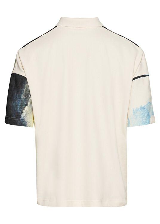 Oversized Poloshirt, Mehrfarbig, large image number 1