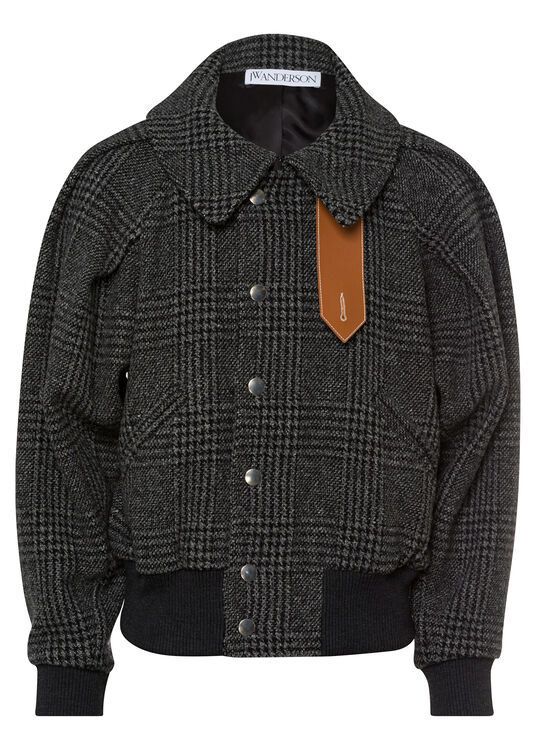 RUCHED SLEEVE BOMBER image number 0