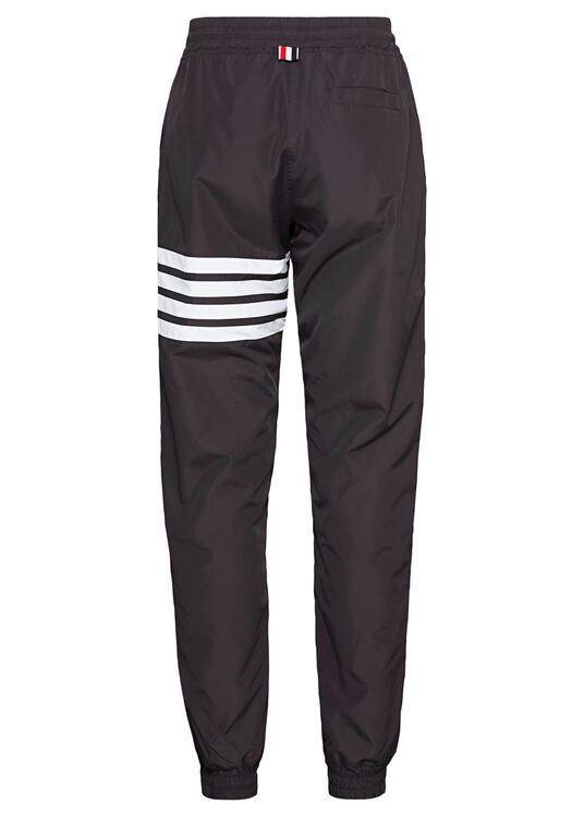 TRACK PANTS W/ 4 BAR IN FLYWEIGHT TECH, Schwarz, large image number 1