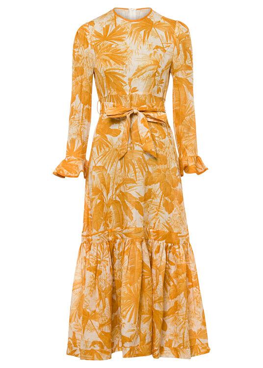 Mae Frill Midi Dress image number 0