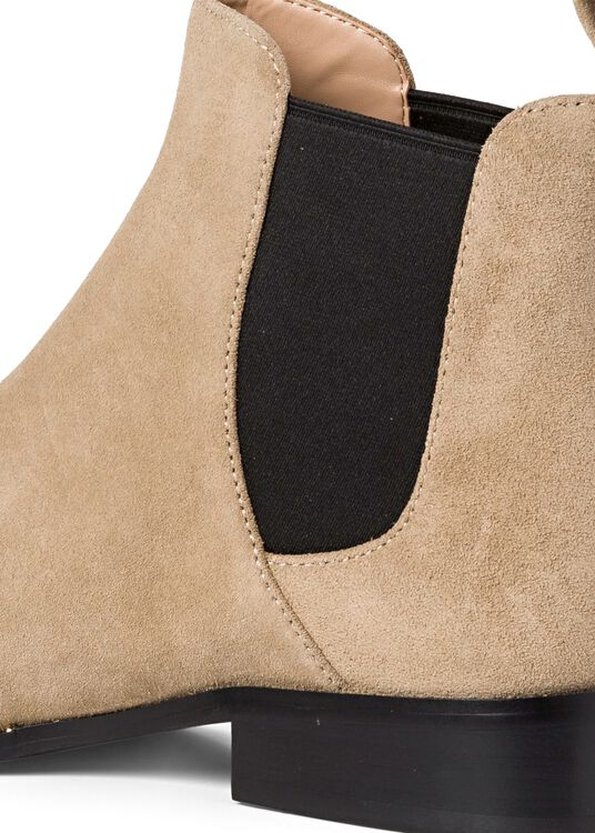 4_Nichole Chelsea Suede, Beige, large image number 3