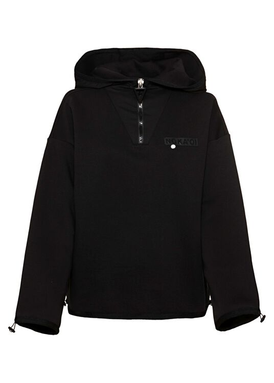 Horizon zip-up hoodie Black, , large image number 0
