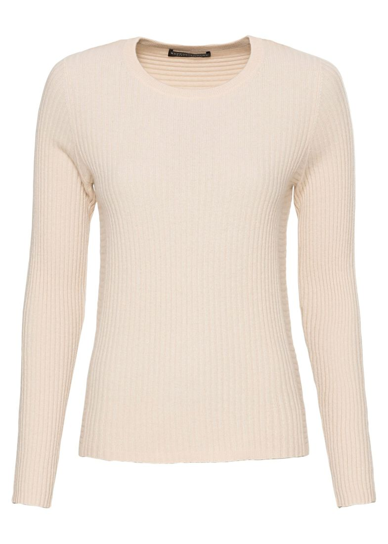 Sweater, Beige, large image number 0