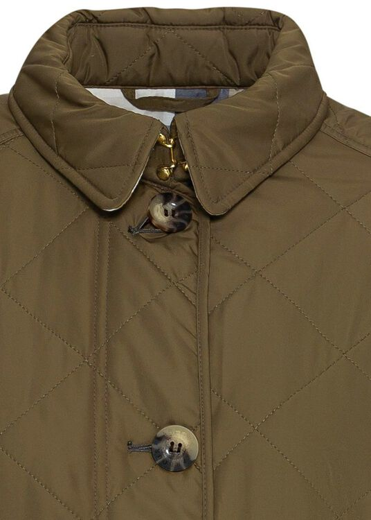Barbour Nelson Quilt   Olive/O image number 2