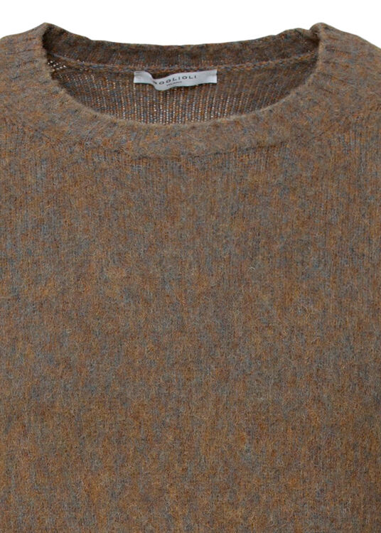 Mix Colour Mohair Crew image number 2
