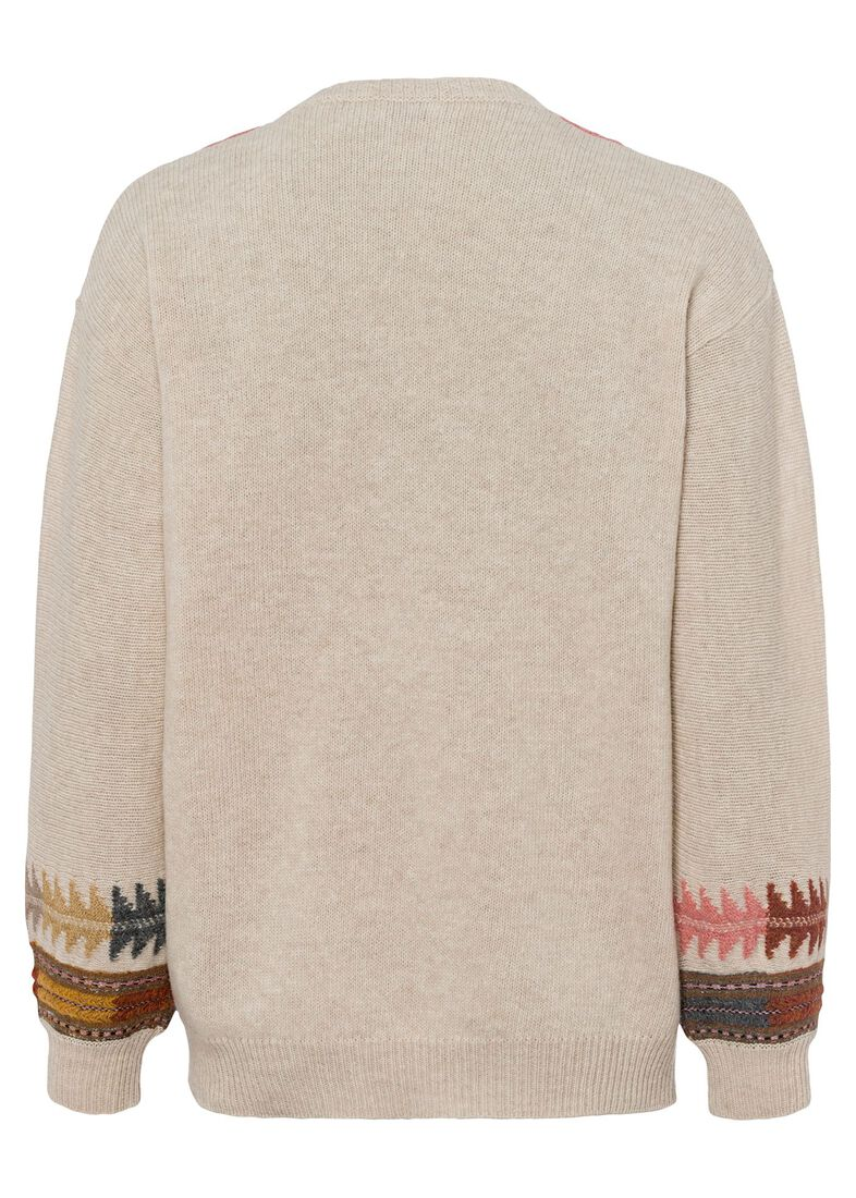 MAGLIA ABACO CLASSIC, Beige, large image number 1