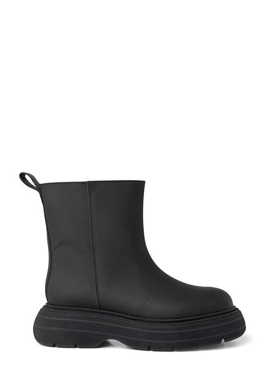 Short Black Rubber Boot image number 0