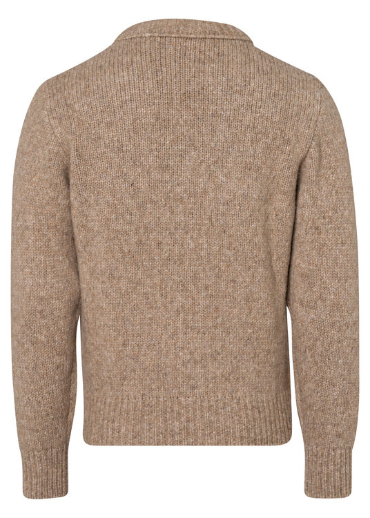 ROUND-NECKED SWEATER image number 1