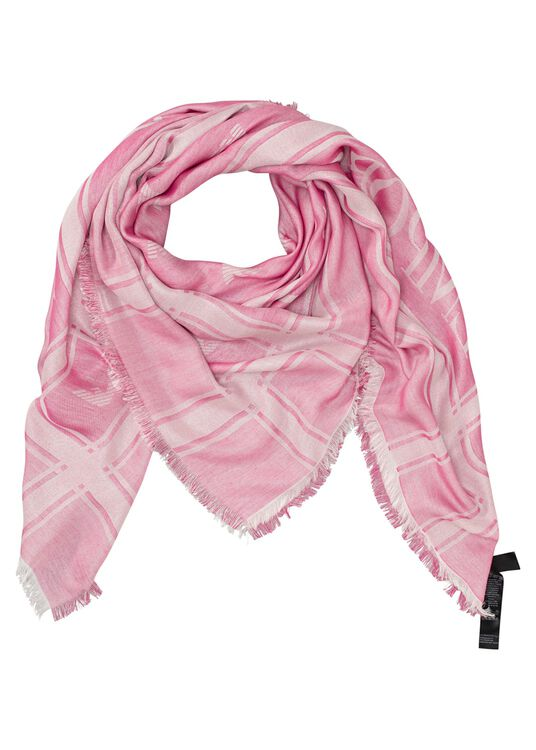 FOULARD 142X142 MD P, Rosa, large image number 0
